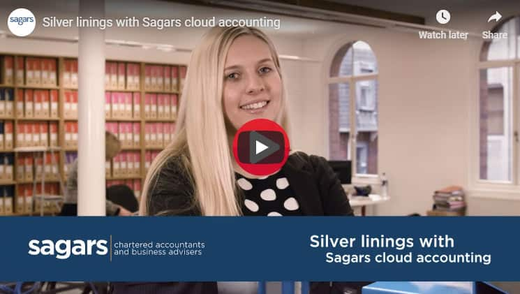 Silver linings with Sagars cloud accounting
