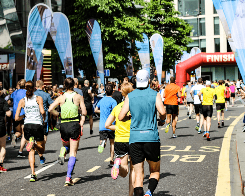 Charities & Not-for-profit - marathon runners