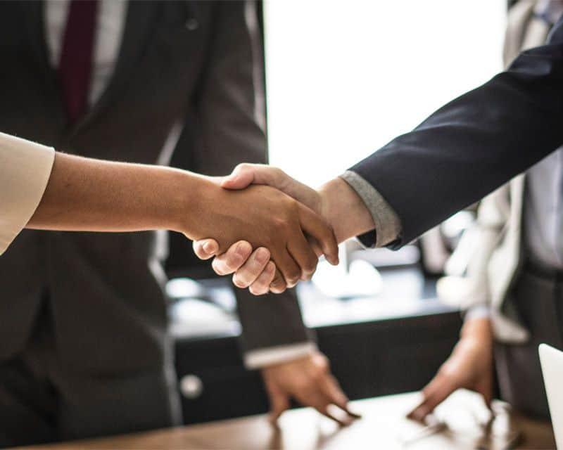 Professional practices - handshake