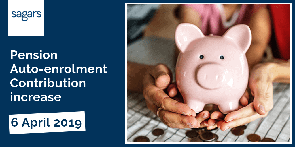 Pension auto-enrolment contributions due to rise - 6th April 2019