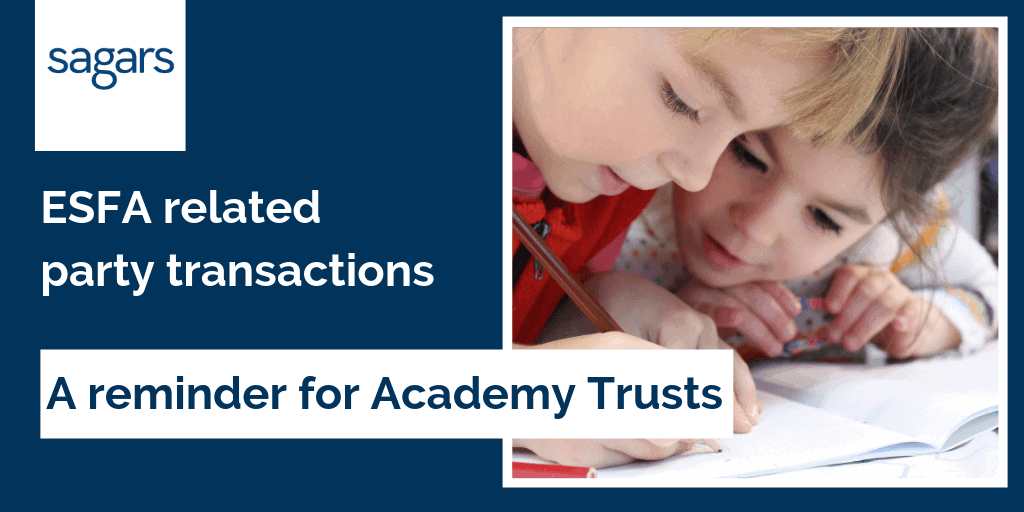 ESFA related party transactions a reminder for Academy Trusts