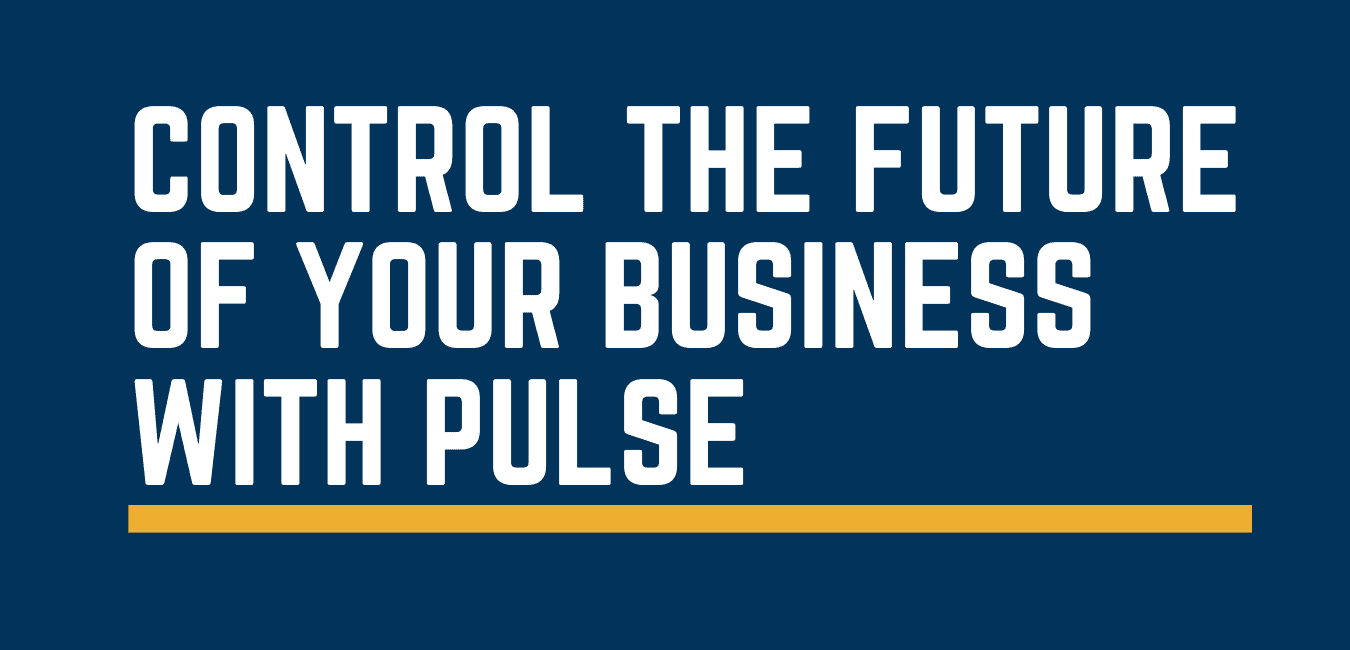 control the future of your business with Pulse